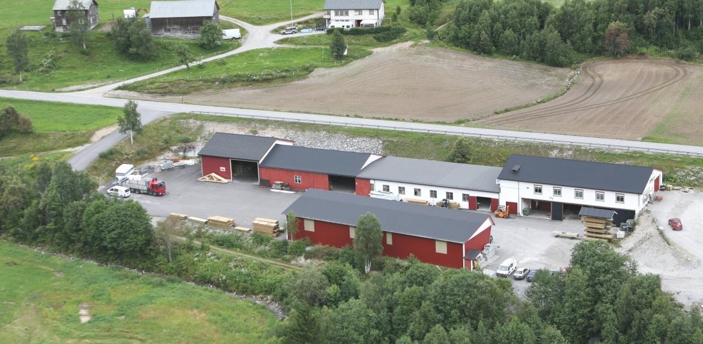 Vårt anlegg på Omenås i Valldal