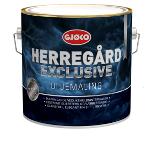 Herregård Exclusive Oljemaling