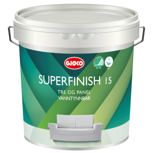 Superfinish 15 - Paneler og innredning