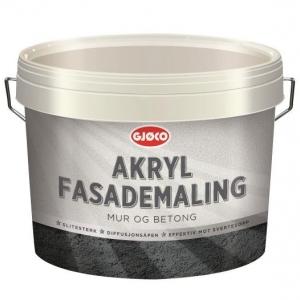 Akryl fasademaling
